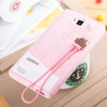 Case Huawei Honor 3C ซิลิโคน TPU บิสกิตสีพาสเทลน่ารักมากๆ ราคาถูก (ไม่รวมสายคล้อง)