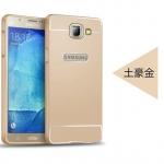 เคส Samsung Galaxy A9 Pro ขอบเคสโลหะ Bumper + พร้อมแผ่นฝาหลัง ราคาถูก