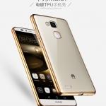 Case Huawei Mate 7 ซิลิโคน TPU โปร่งใสขอบเงางาม ราคาถูก