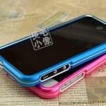 case iphone 5 เคสไอโฟน5 ขอบเคส bumper อลูมิเนียมอัลลอยแยกประกอบ 2 ชิ้นแบบประกบ ไม่ต้องไขน๊อต น้ำหนักเบาตัดขอบคาดขาวแนวสปร์ตด้วย materials polycarbonate ด้านในขอบ ป้องกันตัวเครื่องเป็นรอย สวยมากๆ Color armor metal frame hit the color protective shell