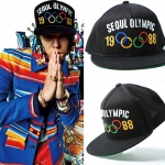 หมวก Seoul Olympic แบบ GD&Taeyang