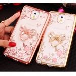 เคส Samsung Galaxy Note 3 ซิลิโคน TPU โปร่งใสขอบเงาลายดอกไม้แสนหวาน พร้อมแหวานสุดสวย ราคาถูก