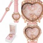 นาฬิกาข้อมือมายเมโลดี้เรือนชมพู &#x266A My melody Watch (Charm) Cute cute fashion watch