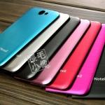 เคส Note 2 Case Samsung Galaxy Note 2 II N7100 แผ่นพลาสติกลายเส้นโลหะใส่หลังเครื่องแทนอันเก่าได้เลย บางเบาสวยเรียบตัดขอบดำใส่แล้วสวยมากๆ Brushed metal black edges Series