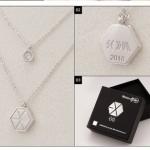 EXO Necklace - สร้อยคอแฟนเมด (ระบุศิลปิน)