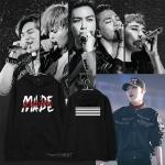 เสื้อแฟชั่นนักร้องเกาหลี เสื้อแขนยาว Bigbang GD MADE (ระบุไซส์ สี)