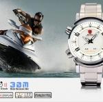 นาฬิกาข้อมือชายแฟชั่น Shank Sport watch SH062