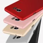 Case Samsung S6 Edge พลาสติกเคลือบเมทัลลิคแบบประกบหน้า - หลังสวยงามมากๆ ราคาถูก