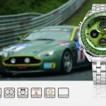 นาฬิกาข้อมือชาย Shark Sport Watch SH112