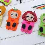 เคสไอโฟน5 case iphone 5s ซิลิโคนผลไม้น่ารักๆ สตอเอบร์รี่ แอปเปิ้ล มะเขือเทศ ขายส่งราคาถูก