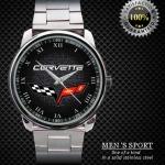 นาฬิกาแฟชั่น 3 D CHEVROLET CORVETTE MENS AUTOMATIC