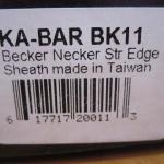 KA-BAR Becker BK11