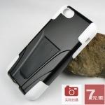 เคส iPhone 5C เคสกันกระแทก สวยๆ ดุๆ เท่ๆ แนวถึกๆ อึดๆ adventure เคสแยกประกอบ 2 ชิ้น ชั้นในเป็นยางซิลิโคนกันกระแทก กาง-หุบขาตั้งได้ ราคาถูก