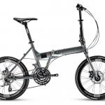 จักรยานพับได้ TRINX FLYBIRD2.0 เฟรมอลู ดุมแบร์ริ่ง Novatec 24 สปีด 2017