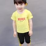 ชุดเซต BIEBER สีเหลือง [size 6m-1y-2y-3y]