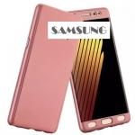 เคส Samsung Galaxy J5 (2015 รุ่นแรก) พลาสติกเคลือบเมทัลลิคแบบประกบหน้า - หลังสวยงามมากๆ ราคาถูก