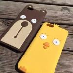 เคส iPhone 7 Plus ซิลิโคน soft case ไก่น้อย หมีน้อย น่ารักมากๆ ราคาถูก