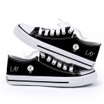 รองเท้าผ้าใบ EXO LAY สีดำ