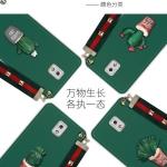 เคส Samsung Note 3 พลาสติกประดับต้นแคสตัส พร้อมสายคล้องมือ น่ารักมากๆ ราคาถูก
