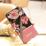 เคส OPPO R9s พลาสติก TPU ลายดอกไม้สวยหวานคุณหญิงมากๆ พร้อมที่ห้อยสวยหรู ราคาถูก (ไม่รวมสายคล้องยาว)