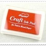 Crystal Craft Ink Pad (สีส้มเข้ม)