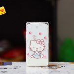 TPU Cartoon case for Huawei Ascend P7
