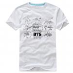 เสื้อยืดลายเซ็น BTS 2014 สีขาว