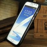 เคส Note 2 Case Samsung Galaxy Note 2 II N7100 Zomgo public fruit ขอบเคส bumper อลูมิเนียมอัลลอย น้ำหนักเบาๆ ขอบมนๆ สีสด แยกประกอบ 2 ชิ้นโดยการสไลด์ สวยๆ แจ่มๆ CNC aluminum aerospace aluminum alloy metal frame