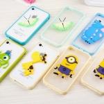 เคสไอโฟน5 case iphone 5s ขอบพลาสติก + PC ประดับตัวการ์ตูน น่ารักๆ
