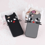 เคส iPhone 7 ซิลิโคนแบบนิ่ม soft case แมวน้อยน่ารักมากๆ ราคาถูก