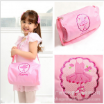 กระเป๋า สีชมพู แพ็ค 5 ใบ เหมาะสำหรับเด็ก 2-12 ปี