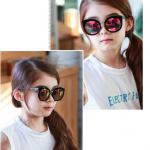 แว่นตา (UV400) เลนส์สีม่วง แพ็ค 5อัน ฟรีไซส์