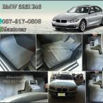 ขายพรมไวนิลปูพื้นรถยนต์เข้ารูป BMW 323 E46 สีเทาขอบเทา