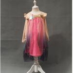 ชุดกระโปรง สีชมพู P31395 แพ็ค 5ชุด ไซส์ 100-110-120-130-140 (เลือกไซส์ได้)