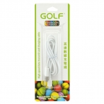 Golf สายชาร์จ Micro USB (Golf Micro USB Charging Cable) สีขาว