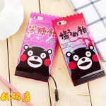 Case iPhone 6s Plus / 6 Plus (5.5 นิ้ว) พลาสติก TPU ลายการ์ตูนหมีน่ารักๆ ราคาถูก (ไม่รวมสายคล้อง)