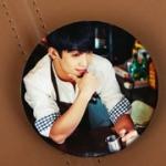 เข็มกลัดกลม BTOB Hyunsik