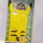 case iphone 5 / 5s ปิ๊กาจู้ โปเกมอน เคสซิลิโคน 3D หูแหลมๆ น่ารักๆ Pokemon Pikachu phone shell Apple iphone5s cute cartoon silicone -B-