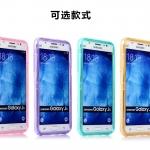 Case Samsung J5 ซิลิโคน TPU soft case แบบฝาพับโปร่งใสสีต่างๆ สวยงามมากๆ ราคาถูก