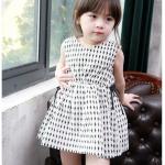 ชุดกระโปรง สีขาว แพ็ค 4ชุด ไซส์ 100-110-120-130