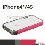 case iphone 4 เคสไอโฟน4s walnutt ขอบเคส bumper ซิลิโคน สวยๆ เคสมือถือราคาถูกขายปลีกขายส่ง
