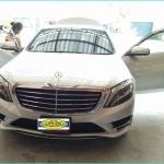 พรมปูพื้นรถเข้ารูป Benz S500 W222