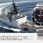 นาฬิกาข้อมือชาย Shark Sport Watch SH102