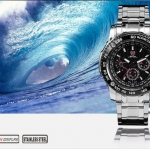 นาฬิกาข้อมือชายแฟชั่น Shank Sport watch SH015