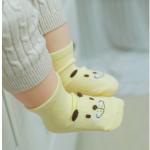 ถุงเท้า สุนัขสีเหลือง แพ็ค 20 คู่ ไซส์ M (ประมาณ 1-3 ปี)