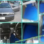 ยางปูพื้นรถยนต์เข้ารูป ราคาถูก BMW 318 E46 ธนูสีฟ้าขอบฟ้า