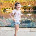 pink ideal เสื้อ สีขาว แพ็ค 5 ชุด ไซส์ 110-120-130-140-150