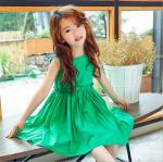 ชุดกระโปรง สีเขียว แพ็ค 5 ชุด ไซส์ 120-130-140-150-160 (เลือกไซส์ได้)