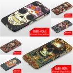Case iPhone 6 Plus / 6s Plus (5.5 นิ้ว) พลาสติกลายหัวกะโหลกสุดเท่ แบบประกบหน้า - หลัง 360 องศา ราคาถูก