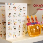 7321 Okey Tina Stamp Set